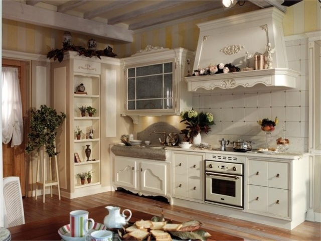 Кухня во французском стиле дизайн фото
