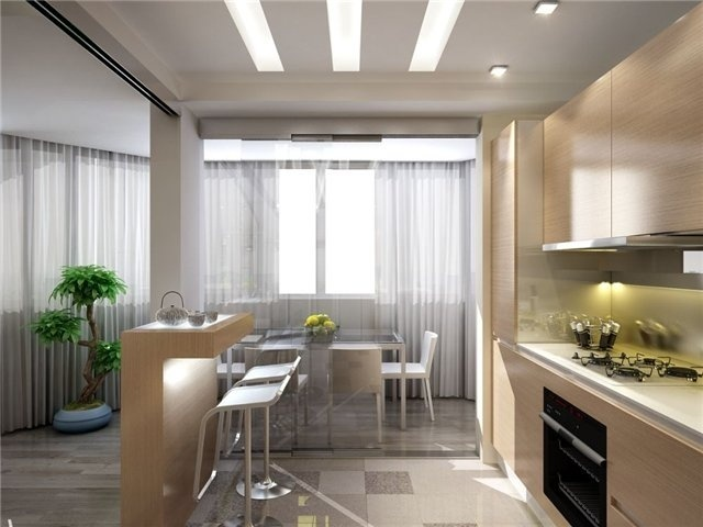 Телевизор на кухни дизайн