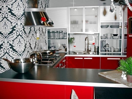 Ideas for black and white kitchen