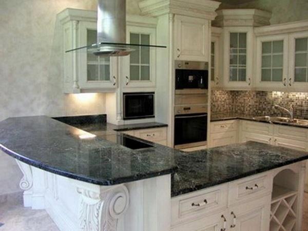 7 видов кухонных столешниц, их цены, преимущества и недостатки
