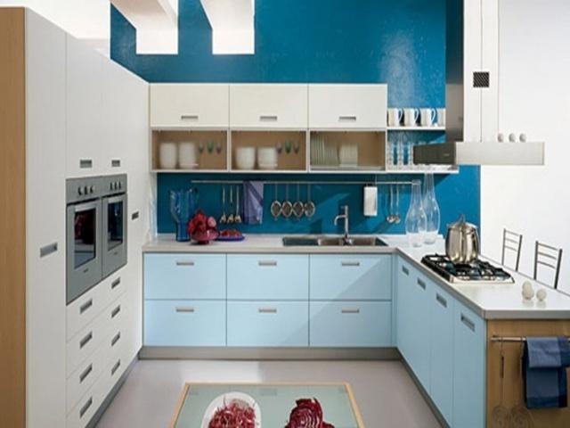 Зеленый цвет в дизайне кухни