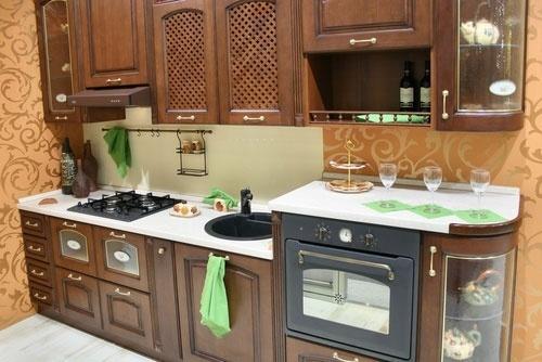 фото угловые кухни