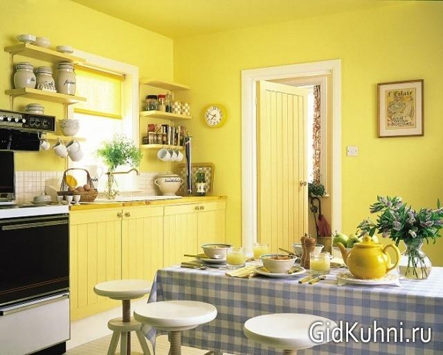 Придумать и сделать стол без ножек на малогабаритной кухне