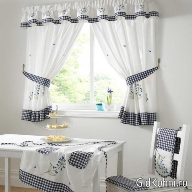 Как пошить самостоятельно шторы для кухни