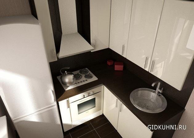 Картинки кухни в малогабаритной квартире