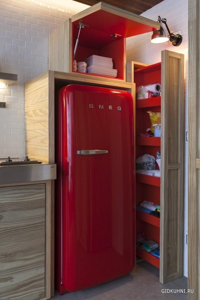 Фото интерьера кухни 8 кв.м