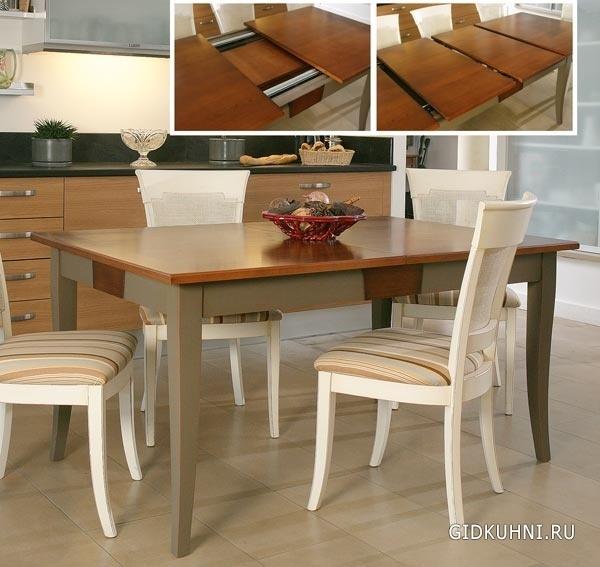 Обеденные столы из мдф и дсп