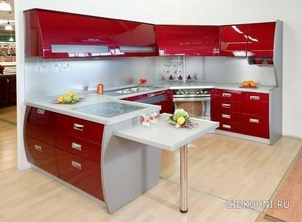 вид кухни фото