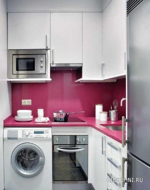 Идеи кухни в малогабаритной квартире