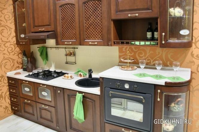 Фото кухни в малогабаритной квартире