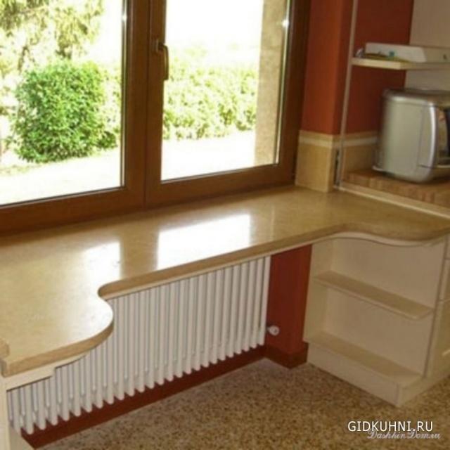 Дизайн интерьера на маленькой кухне