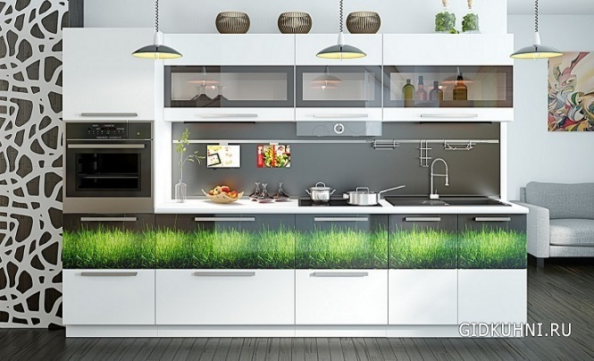 кухонный гарнитур фото дизайн прямая