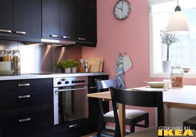 кухни икеа рушим стереотипы цветовая гамма пластика кухонь икея