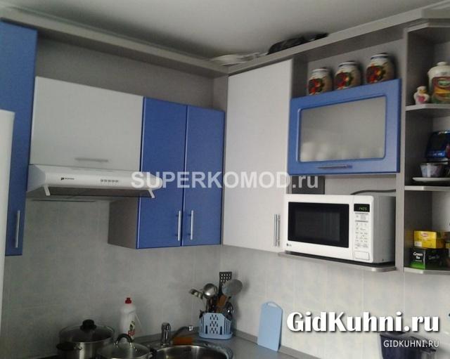 Кухни дизайн фото цвет синий