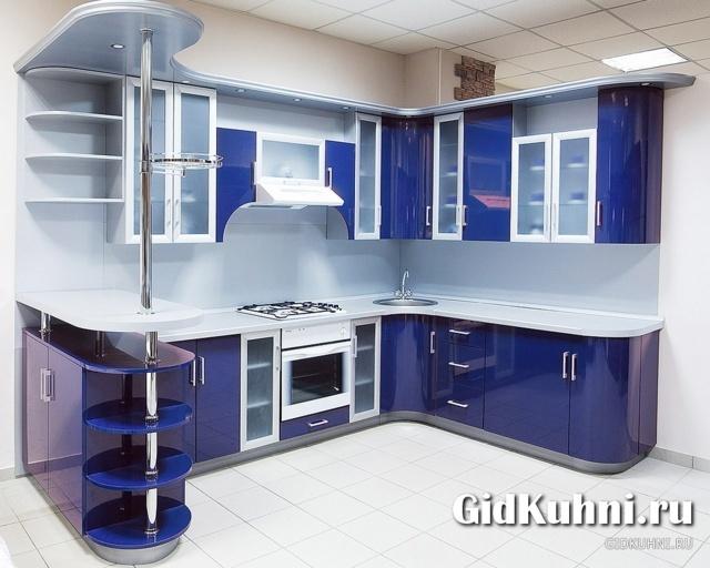 Дизайн кухни с оранжевым гарнитуром фото