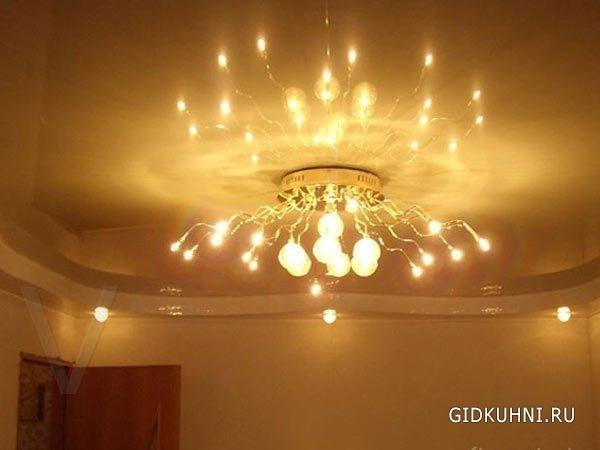 Потолочные люстры и настенные бра в Перми - купить