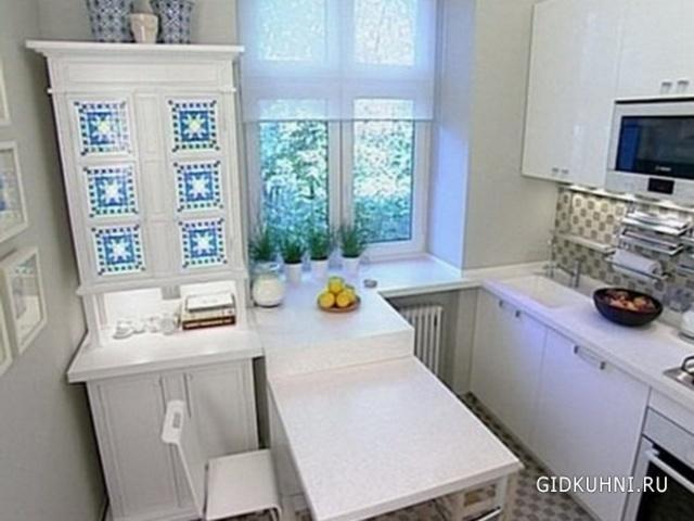 """Для маленькой кухни нужно выбирать эргономичную мебель"""" - ка."""