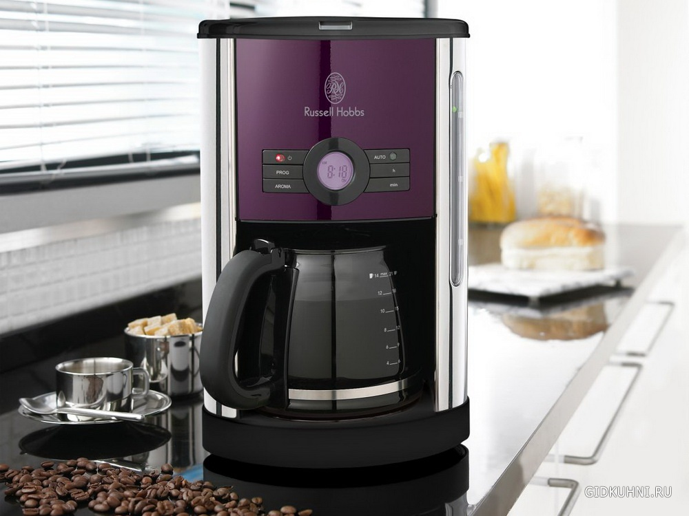 как приготовить кофе в кофеварки капельного типа