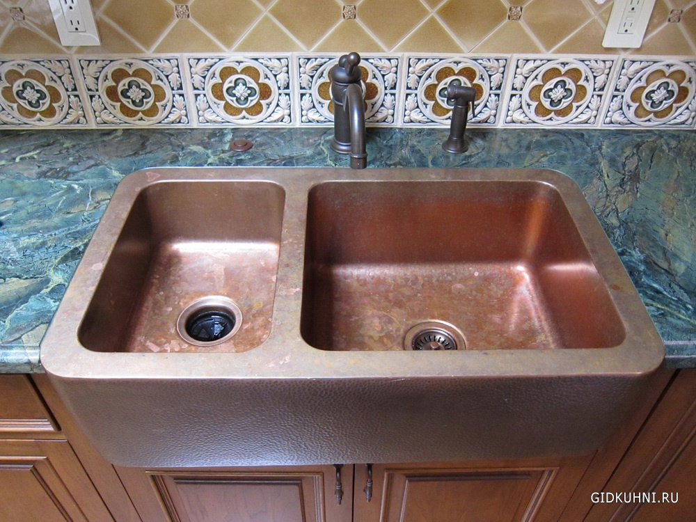 Kitchen Sink Spotlight Trendy Copper Sink Pros and Cons
