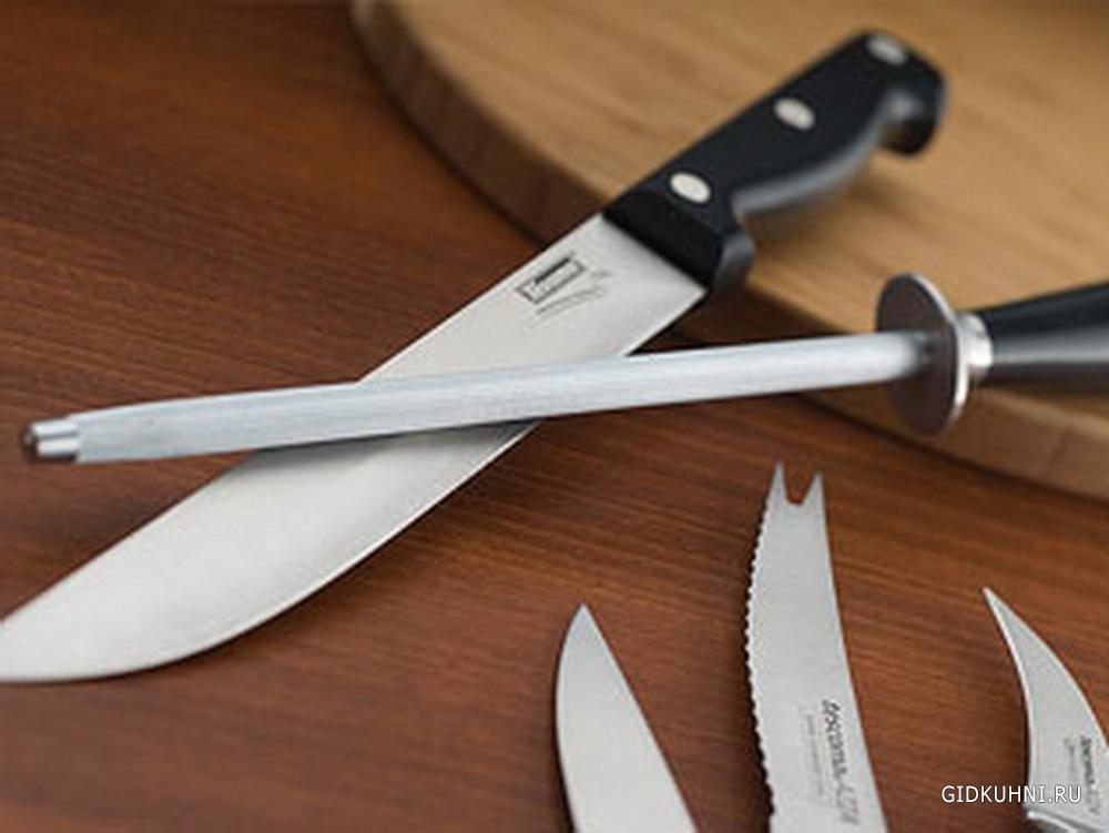 Чем точить нож в домашних условиях